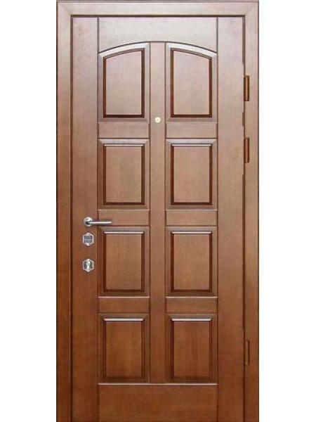 """Стальная входная дверь """"Элита 1"""" Дуб золотой"""