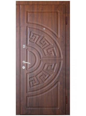 """Стальная входная дверь """"Элита 1"""" Узор Версаче"""