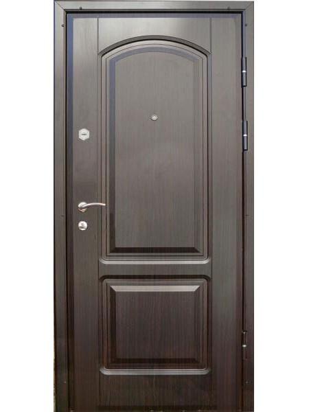 """Стальная входная дверь """"Элита 1"""" Венге 501"""