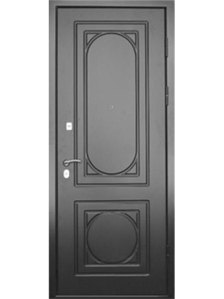 """Стальная входная дверь """"Элита 1"""" Чёрный"""
