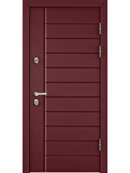 """Стальная входная дверь """"Элита 1"""" Вишня Лестница"""