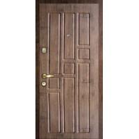 """Стальная входная дверь """"Элита 1"""" Старое дерево"""