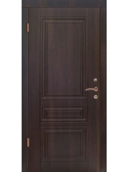 Стальная входная дверь Элита №3 Тик