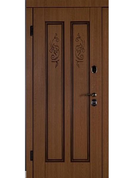 Стальная входная дверь Элита №2 Патина
