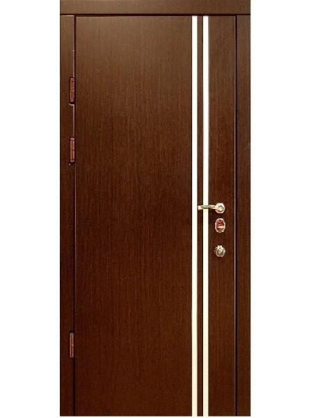Стальная входная дверь Элита №3 Вертикаль