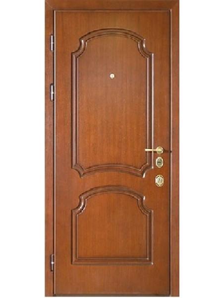 Стальная входная дверь Элита №3 Орех Классик