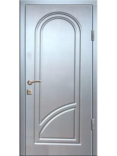 """Стальная входная дверь """"Стандарт №5"""" цвет Алюминий"""