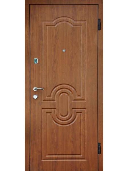 """Стальная входная дверь """"Стандарт №5"""" Дуб золотой"""