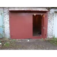 Ворота гаражные металлические гладколистовые