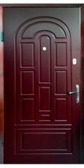 металлические двери с бронированным остеклением